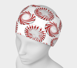Peppermint Candy Dots Headband - expressive-flower-art-goods.myshopify.com
