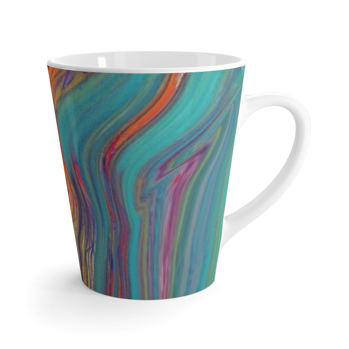 Colorful Sketch Latte mug