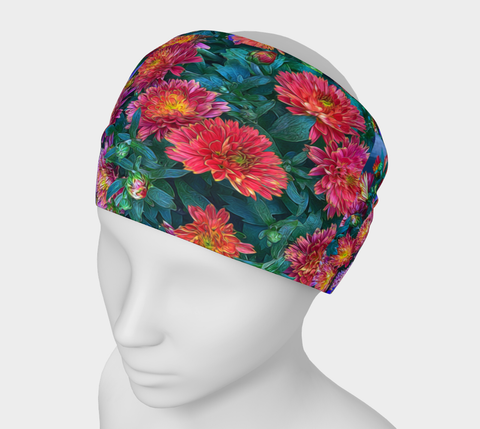 Warm Fall Mums Headband