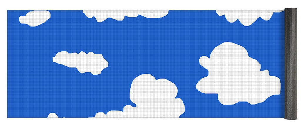 Clouds - Yoga Mat