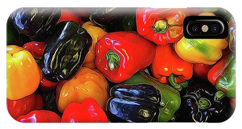 Colorful Bell Peppers - Phone Case