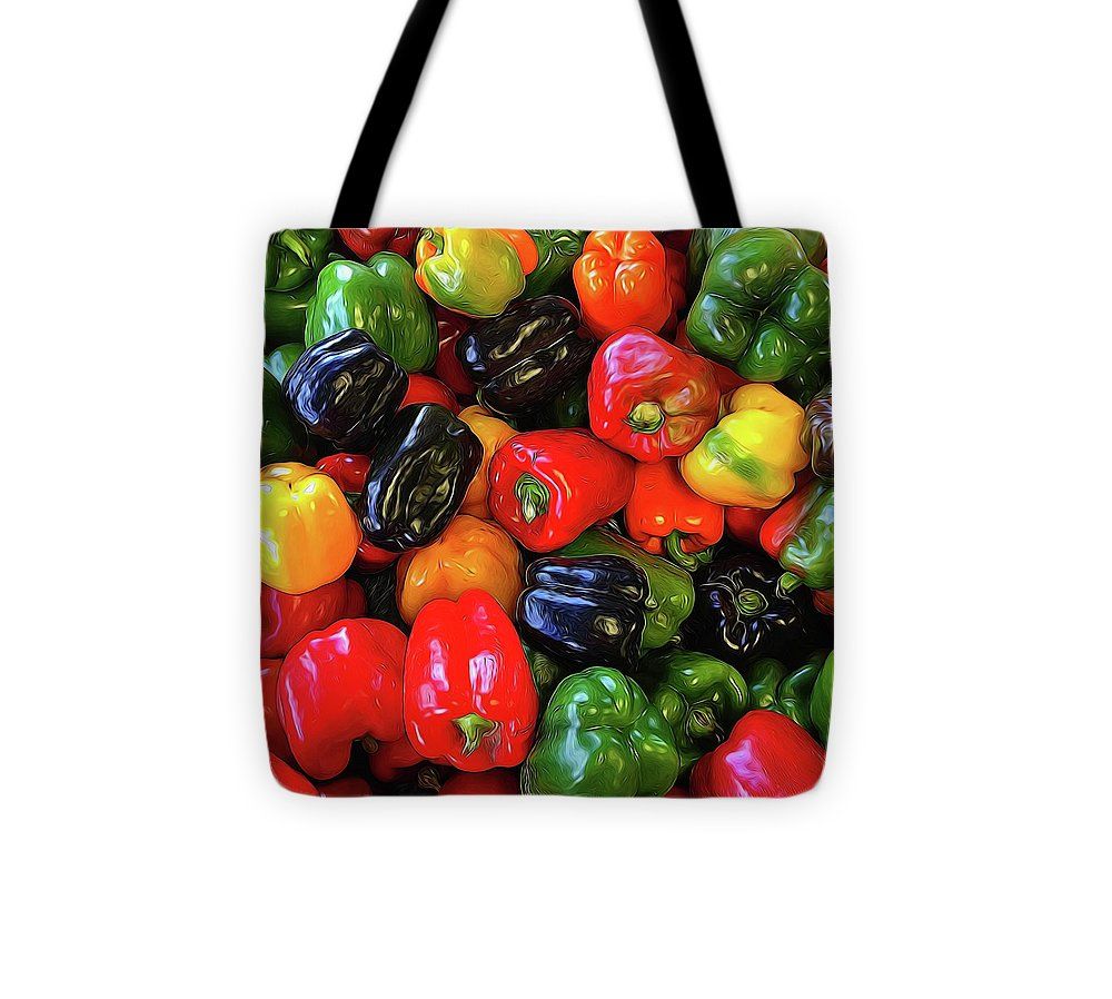 Colorful Bell Peppers - Tote Bag
