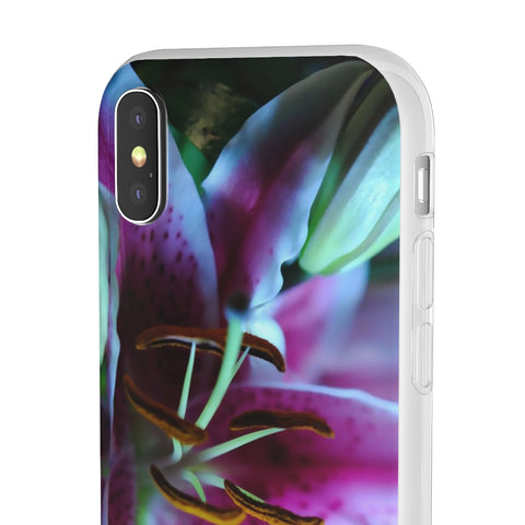 Star Gazer Lily Flexi Cases