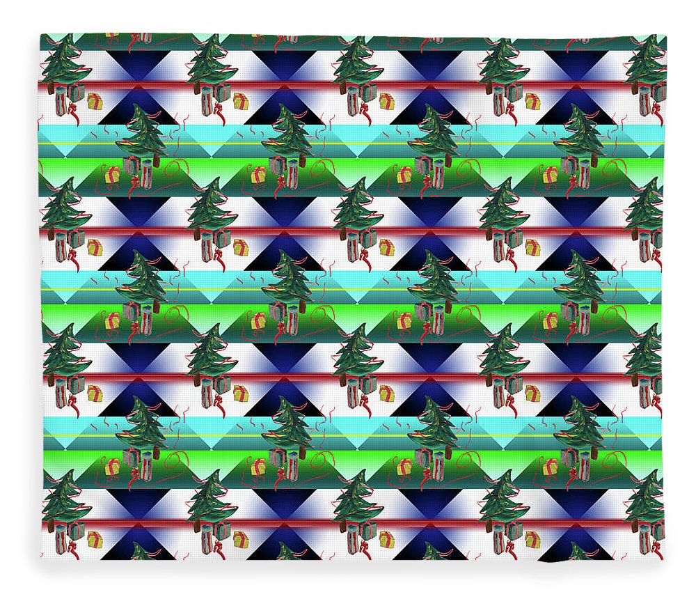 Dancing Christmas Tree - Blanket