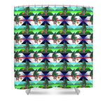 Dancing Christmas Tree - Shower Curtain