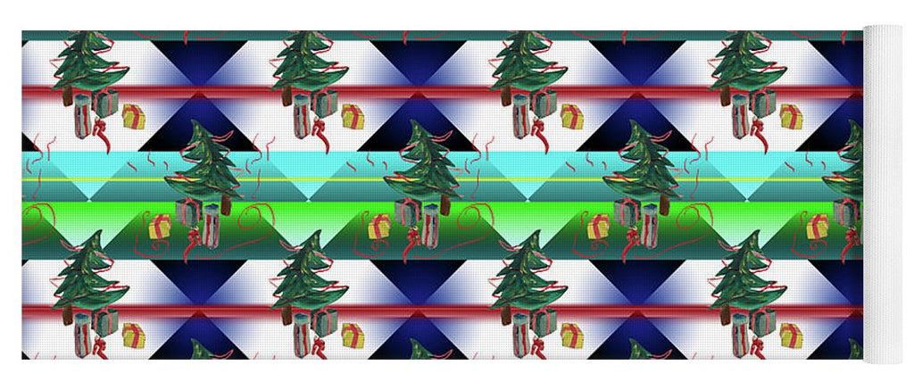Dancing Christmas Tree - Yoga Mat
