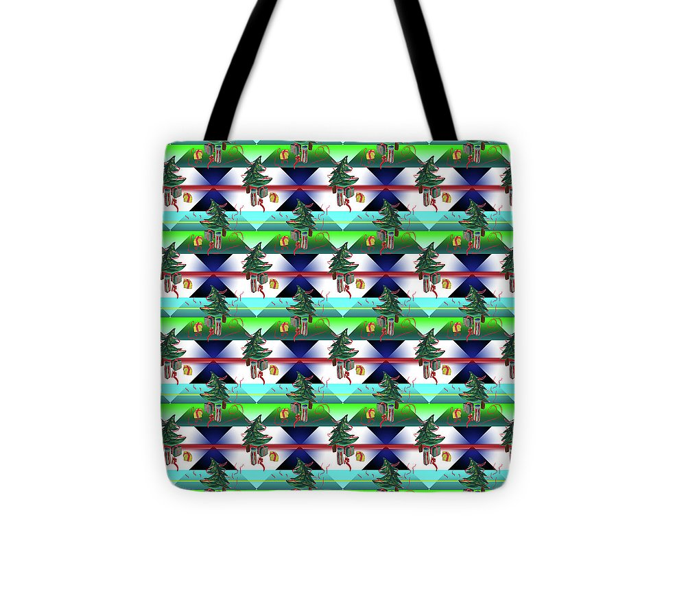 Dancing Christmas Tree - Tote Bag