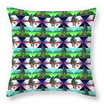 Dancing Christmas Tree - Throw Pillow