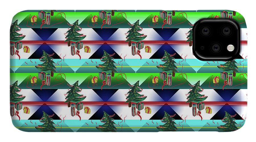 Dancing Christmas Tree - Phone Case