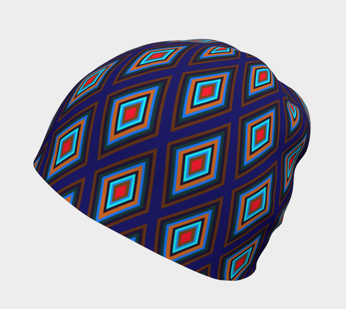 Colorful Diamonds Variation 3 Hat