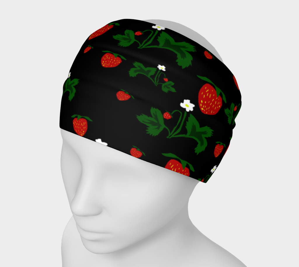 Wild Strawberries Headband