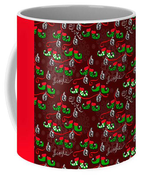 Elves Jingle - Mug - expressive-flower-art-goods.myshopify.com