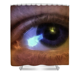 Eye Of The Artist - Shower Curtain