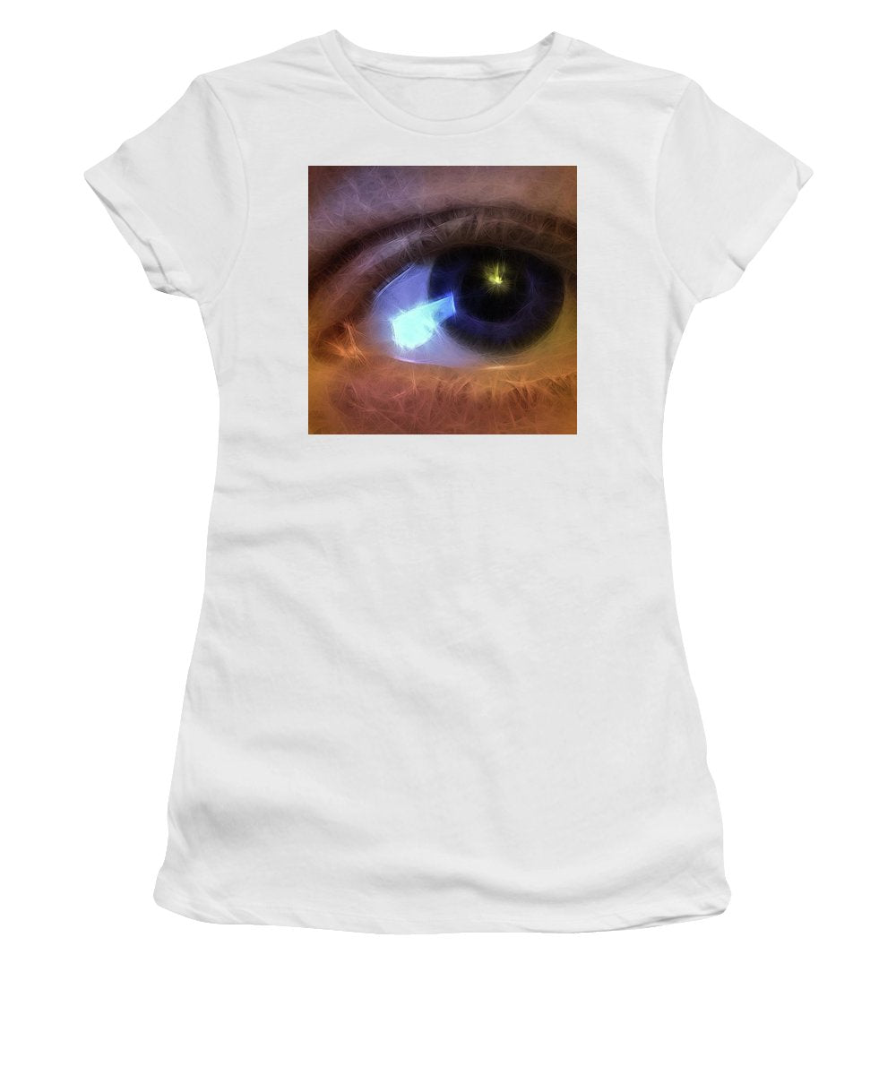 Eye Of The Artist - Women's T-Shirt (Athletic Fit)