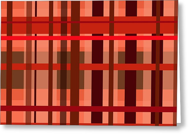 Fall Plaid - Greeting Card