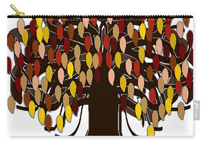 Fall Tree - Carry-All Pouch - expressive-flower-art-goods.myshopify.com