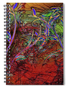 Fall Winds Are Coming - Spiral Notebook
