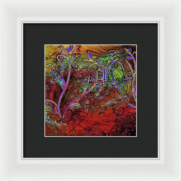 Fall Winds Are Coming - Framed Print