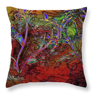 Fall Winds Are Coming - Throw Pillow