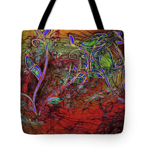 Fall Winds Are Coming - Tote Bag