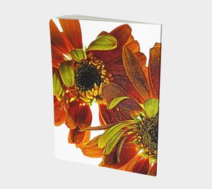 Orange Daisy 1801 Bound Notebook