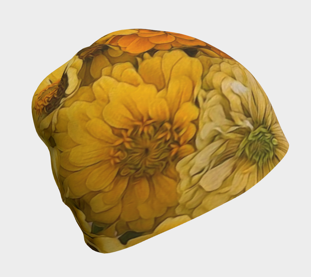 Yellow Zinnias Hat
