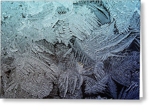 Frost 5 - Greeting Card - expressive-flower-art-goods.myshopify.com