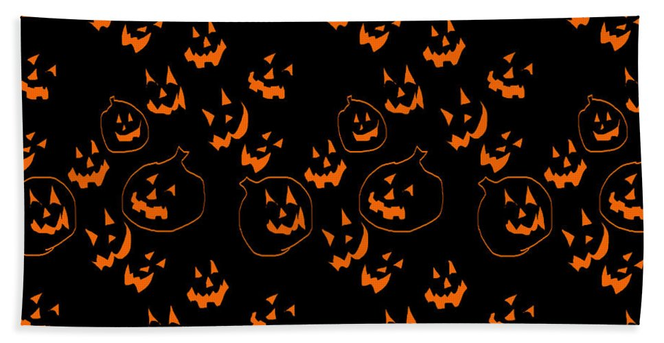 Jack O Lanterns - Beach Towel