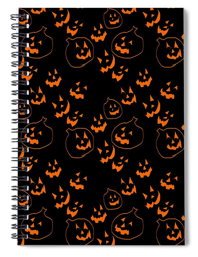 Jack O Lanterns - Spiral Notebook