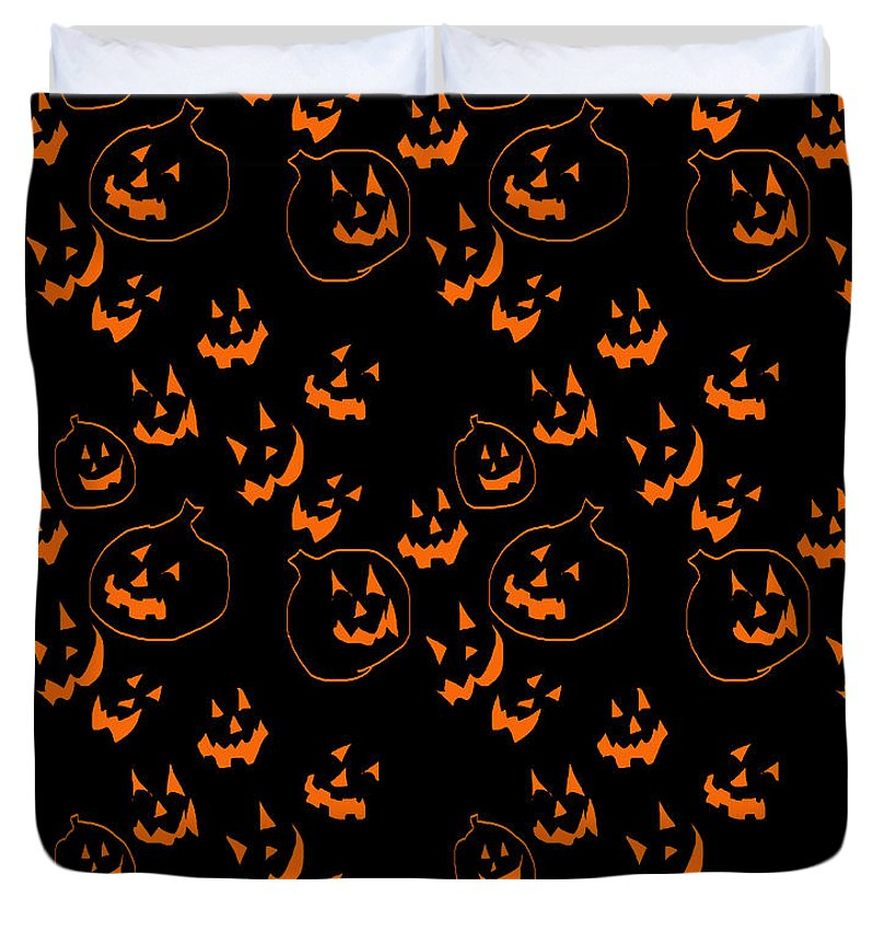 Jack O Lanterns - Duvet Cover