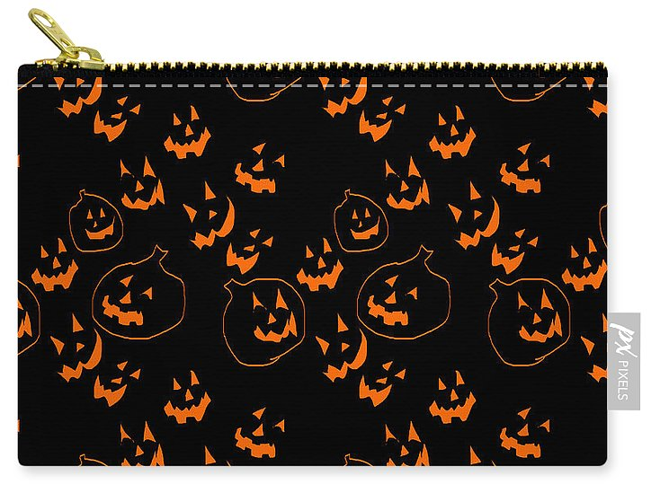 Jack O Lanterns - Carry-All Pouch