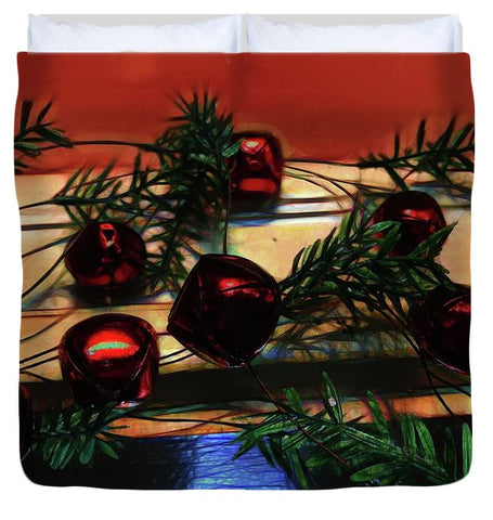 Jingle Bell Garland - Duvet Cover