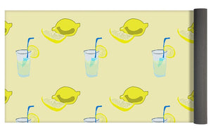 Lemonade Polkadots - Yoga Mat