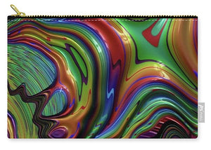 Liquid Rainbow Fractal 24 - Carry-All Pouch