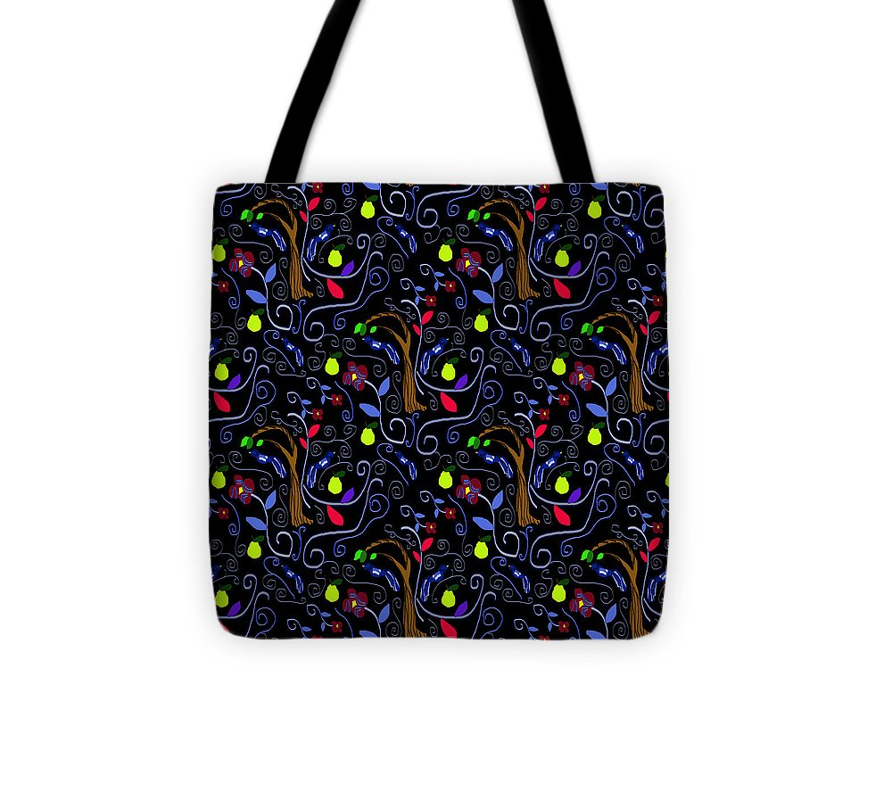 Medieval Birds And Scrolls - Tote Bag
