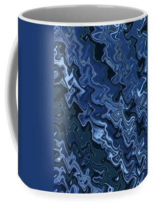 Melted Blue Chrome - Mug