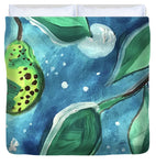 Pear Tree Under The Stars - Duvet Cover - expressive-flower-art-goods.myshopify.com