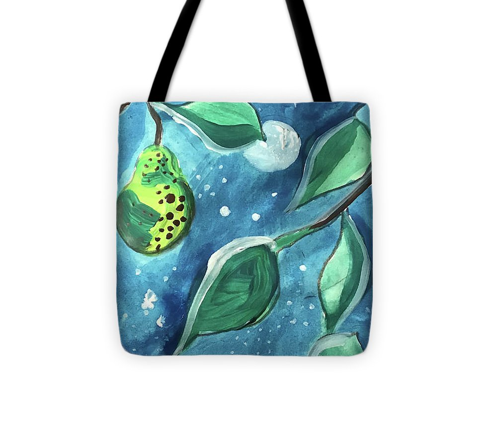 Pear Tree Under The Stars - Tote Bag - expressive-flower-art-goods.myshopify.com