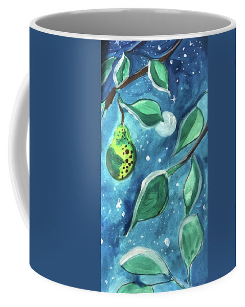 Pear Tree Under The Stars - Mug - expressive-flower-art-goods.myshopify.com