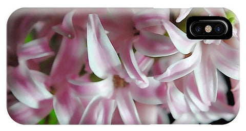 Pink Hyacinth Flower - Phone Case