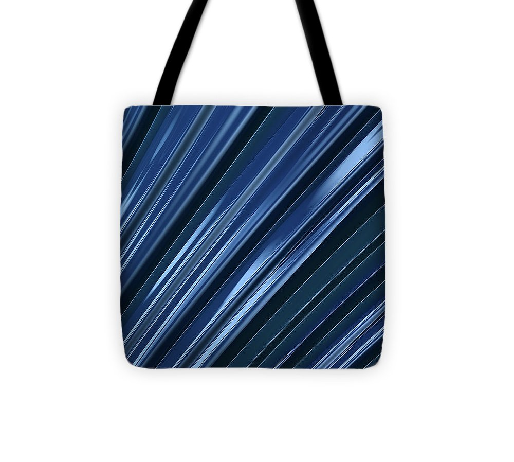 Pouring Blue - Tote Bag