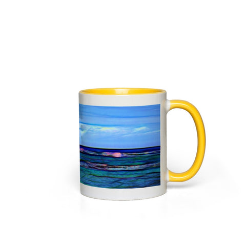 Hawaiian Ocean Accent Mugs