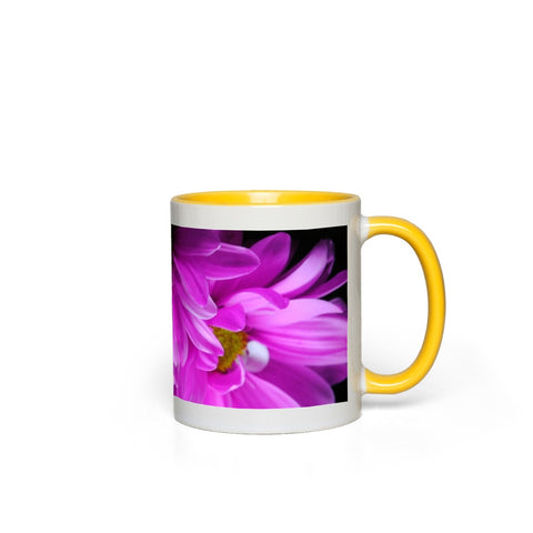 Pink Daisies Accent Mugs