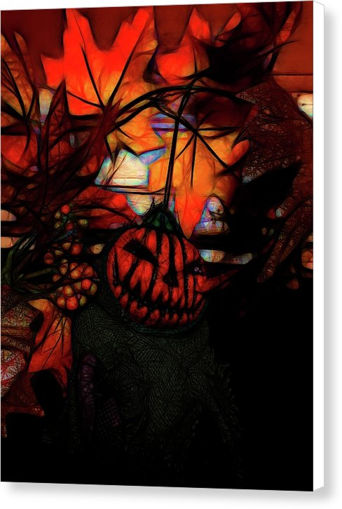 Pumpkin King - Canvas Print