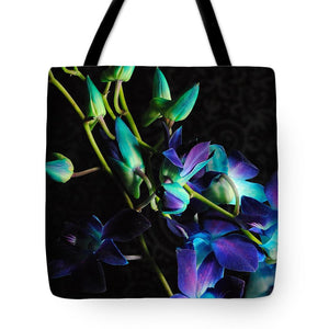 Purple Orchid Buds - Tote Bag