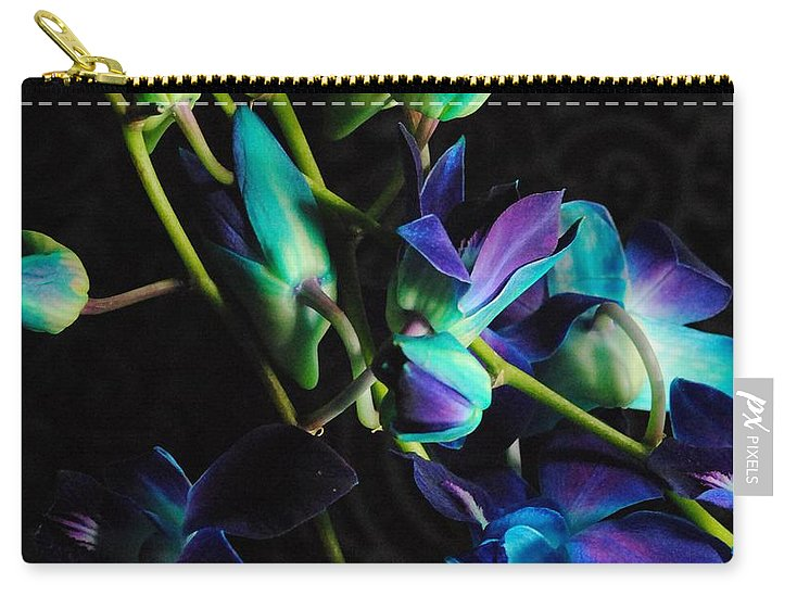 Purple Orchid Buds - Carry-All Pouch
