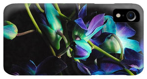 Purple Orchid Buds - Phone Case