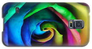 Rainbow Rose 17 - Phone Case