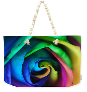 Rainbow Rose 17 - Weekender Tote Bag