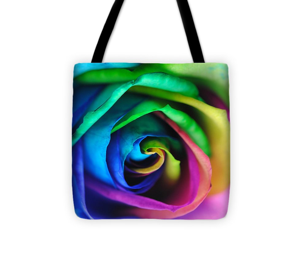 Rainbow Rose 17 - Tote Bag
